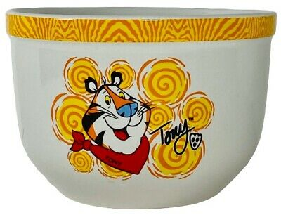 Kellogg's Tony The Tiger Ceramic Cereal Bowl (2002 Houston Harvest #31555)