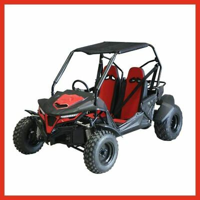 ZX-K5 - CanAm Style 2020 Utility UTV Dune Buggy RED Adults GY6 200cc Automatic