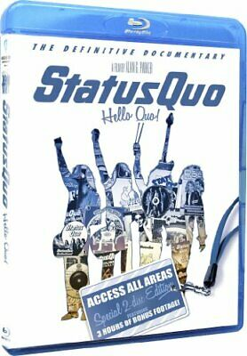 Status Quo - Hello Quo: Access All Areas Edition Blu-ray [Blu-ray] - DVD  Z6VG