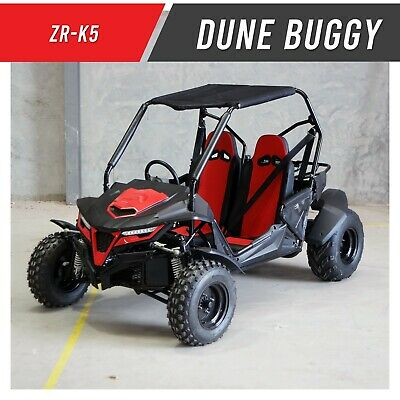 ZX-K5 - Twin seater Utility Vehicle UTV Farm Off road Buggy 200cc Auto Reverse