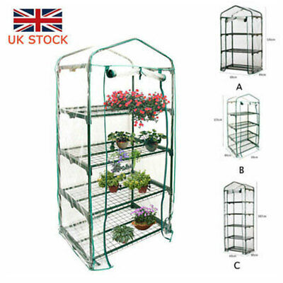 Large Greenhouse PVC Plant Garden Grow Tent Green House 3/4/5 Shelves Cover