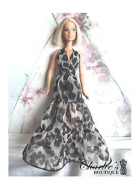 Barbie doll leopard dresses (Made In Perth)