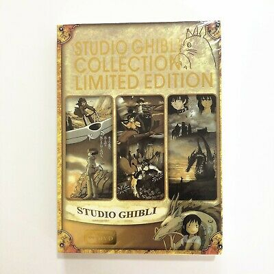 Studio Ghibli Collection Limited Edition 18 Hayao Miyazaki Films(DVD,6-Disc Set)
