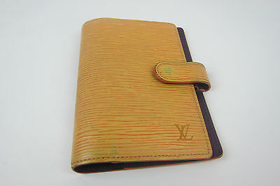 Auth  Louis Vuitton  Yellow Epi Agenda  Cover Day Planner