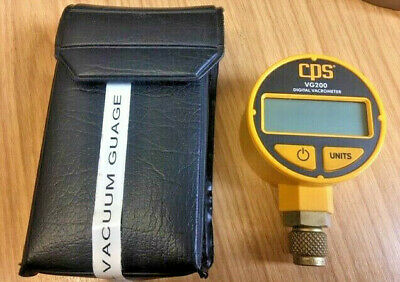 CPS VG200 Digital Vacrometer Vacuum Gauge Test Set