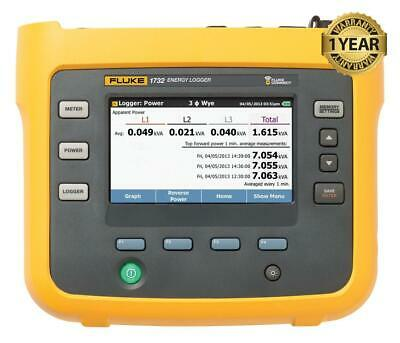 Fluke 1732 Three Phase Electrical Energy Power Logger Analyzer