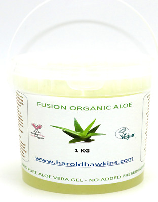 1KG 100% Pure Aloe Vera Gel / Extracted Pulp  - LIMITED OFFER NEXT DAY DELIVERY