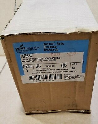 Ar632 Crouse-Hinds 2W-3P Receptacle