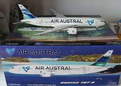 Inflight200 IF78780616  Boeing 787-8 Air Austral F-OLRC in 1:200 Scale