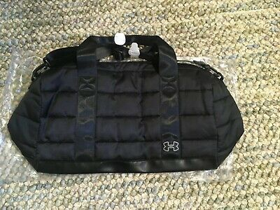 Brand new with tags black Under Armour brand Padded gym duffle bag by DSW