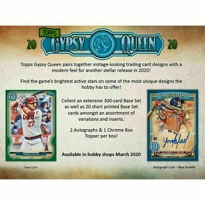 2020 Topps Gypsy Queen Baseball #1-291 You Pick ~ NEW