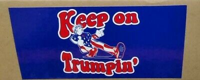1 lot KEEP ON TRUMPIN MAGA 2020 Bumper Sticker UNITED STATES OF AMERICA MADE US
