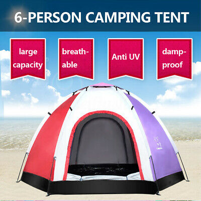 Outdoor Single Pop-up Tent Pod For Fishing Watching Sports Camping Blue Clear UK