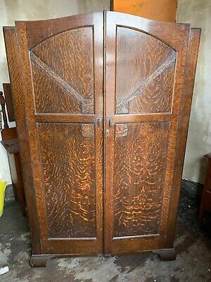 5x.   1930/40s Wardrobe  1930 - 1940 Antique
