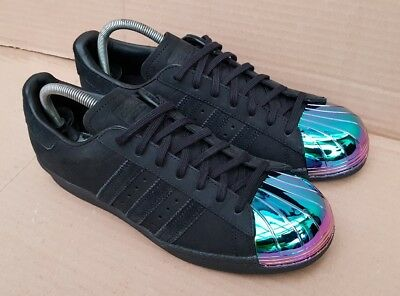 ADIDAS SUPERSTAR 80S Metal Tow Tf Uk 5 12 Black EUR 16,04