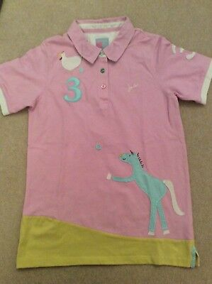 Worn once  Mini Boden Horse top age 11-12 years