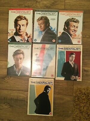 The Mentalist 1-7 Complete Series Dvds (He Seems to Read Their Minds)