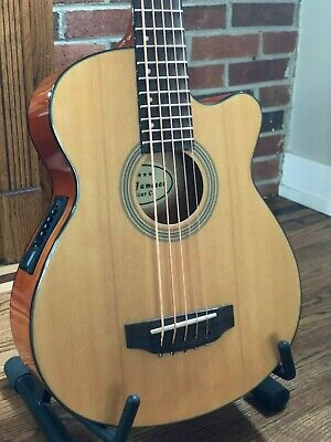 5 String Acoustic Electric Bass Guitar With Active EQ Pickup by Jameson