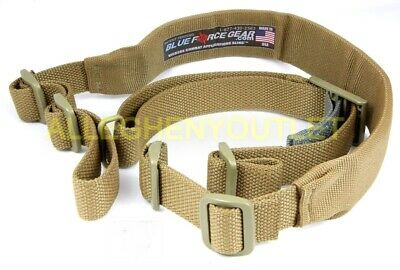 Blue Force Gear Padded Vickers Combat Applications Sling Coyote Brown NIB