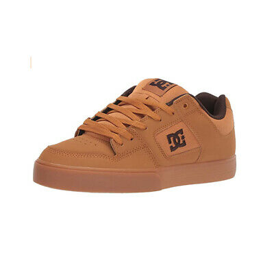 DC SKATEBOARD SHOES Pure Light Brown Mens FOR SALE