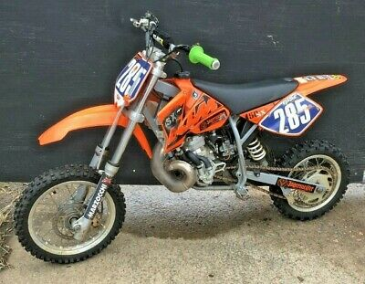 2006 KTM SX 50CC Mini Moto-X Bike