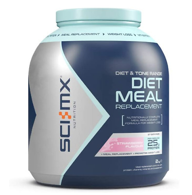 Sci-Mx Nutrition Diet Pro Meal Replacement Protein Strawberry