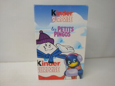 Box Kinder Surprise Diorama Cassette the Little Pingos Tome 6