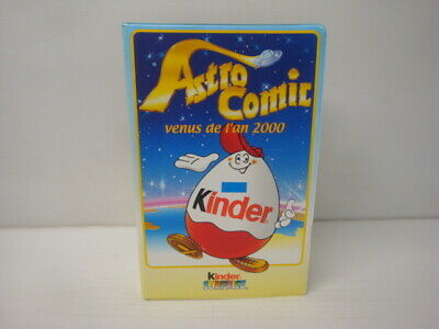 Box Kinder Surprise Diorama Cassette Astro Comic Complete Series