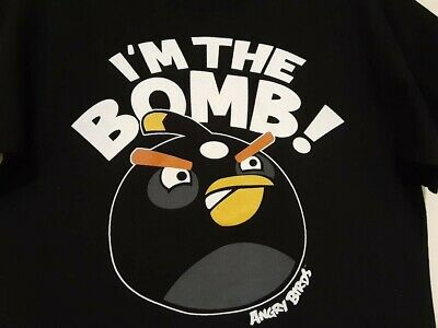 ANGRY BIRDS ~ I/'M THE BOMB 22x34 VIDEO GAME POSTER iPHONE APP NEW//ROLLED!