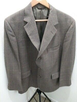 Huntington Men Suit Pants + Jacket 41 R Gray/Navy  Business Professional