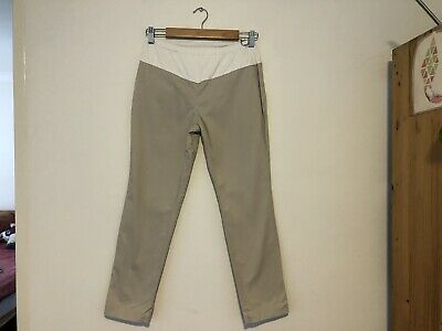 Maternity Trousers Camel Size Small Mother 2 Be