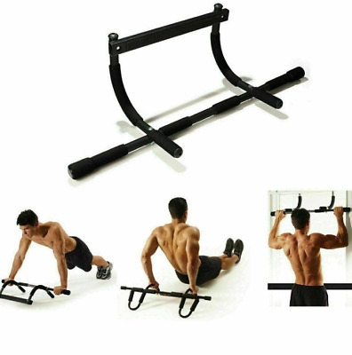 Doorway Pull Up Bar Chin Up Sit-Up Strength Body Workout Exercise Fitness Gym