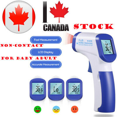 Adult Kids Digital Infrared IR Temperature Forehead Body Thermometer Gauge