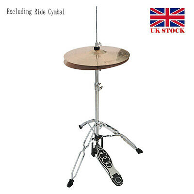 1pc Professional Pedal Control Style Drum High Hat Cymbal Stand with Pedals UK