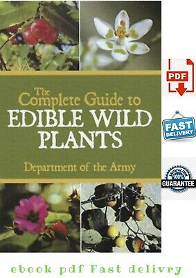 🍒🔥 The Complete Guide to Edible Wild Plants Hight Quality Get⏰Fast🍒E-bo0Ok💥