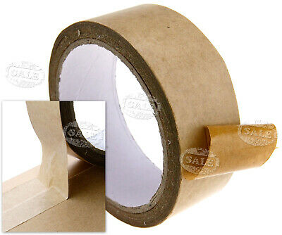 Rolls of 38mm 50m length Brown Self-Adhesive Picture Frame Backing Tape