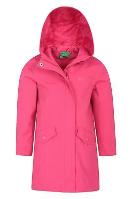 Mountain Warehouse Kid Orbit Kids Longline Waterproof Jacket