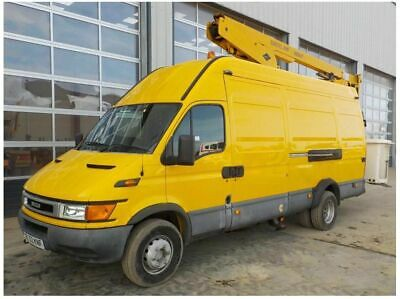 2004 Iveco Daily LWB Hi Roof Van with Cherry Picker