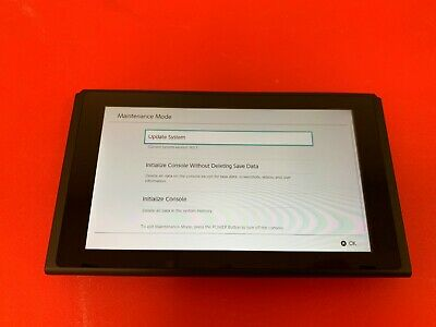 Nintendo Switch 32GB Replacement System Tablet Screen Console Only HAC-001-01