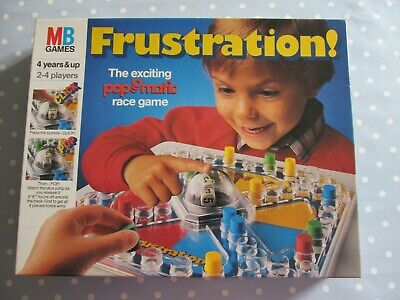 Frustration Board Game By Mb Games Vintage Edition Dated 1986 Complete