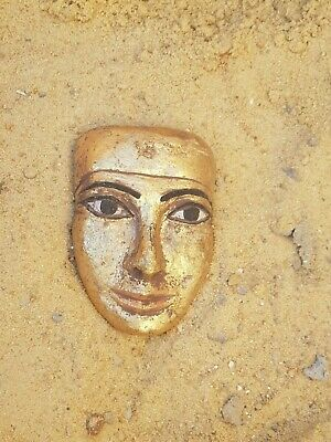 Rare Antique Ancient Egyptian Mask King pharaoh Seti 1st 1290–1279 BC