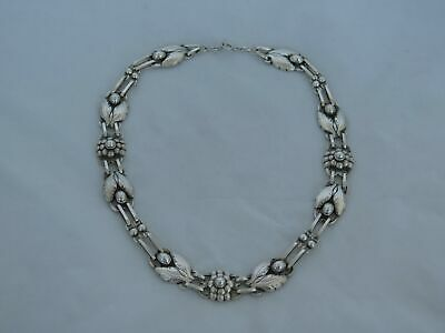Vintage Georg Jensen Denmark Sterling Silver No.1 Necklace