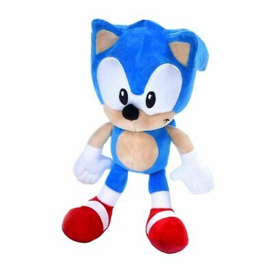 """Classic Sonic the Hedgehog 12"""" Plush Soft Toy - Blue Classic Character"""