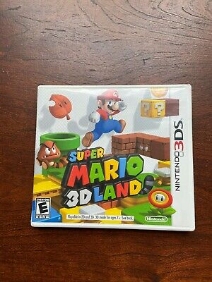 Super Mario 3D Land Nintendo 3DS Complete with Game, Cartridge, and Manual