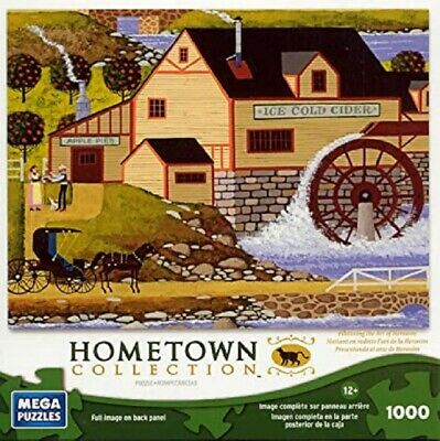 Hometown Collection 1000 Piece Puzzle Old Cider Mill NIB Sealed Art of Heronim