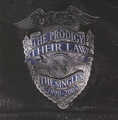 THE PRODIGY - Their law - The singles 1990-2005 - CD album