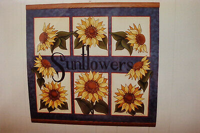 "Leila Lundberg tole painting pattern ""Sunflower Wallhanging"""