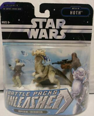 "Star Wars figures Unleashed Battle Packs HASBRO 2.25/"" tall plastic toy soldiers"