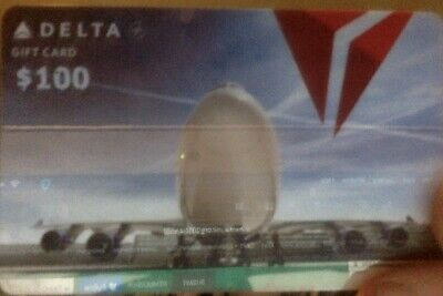 $100 Delta Airlines Gift Card No Expiration