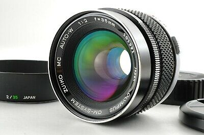 【EXCELLENT+++++】 Olympus OM System Zuiko MC Auto-W 35mm f/2 MF Lens from JAPAN